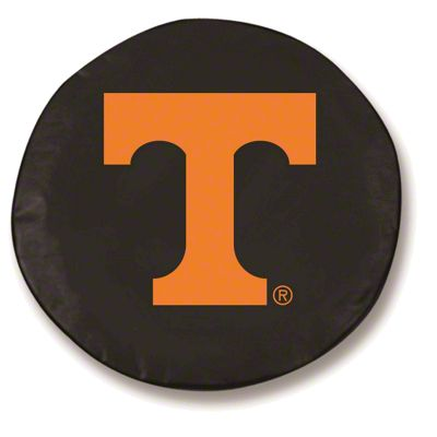 University of Tennessee Spare Tire Cover - Black (87-18 Jeep Wrangler YJ, TJ, JK & JL)