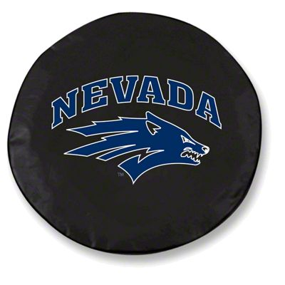 University of Nevada Spare Tire Cover - Black (87-18 Jeep Wrangler YJ, TJ, JK & JL)