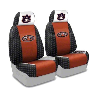 Coverking Auburn University Front Seat Covers (87-95 Jeep Wrangler YJ)