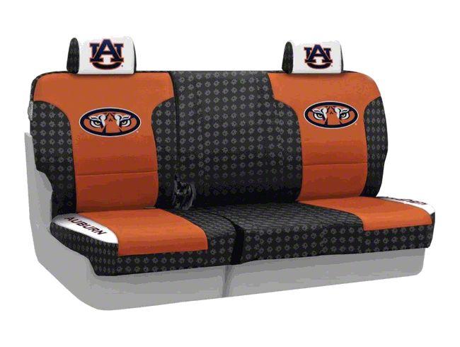 Coverking Auburn University Rear Seat Covers (07-18 Jeep Wrangler JK)