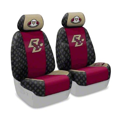 Coverking Boston College Front Seat Covers (07-18 Jeep Wrangler JK)