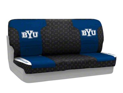 Coverking Brigham Young University Rear Seat Covers (87-95 Jeep Wrangler YJ)
