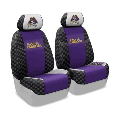 Coverking East Carolina University Front Seat Covers (07-18 Jeep Wrangler JK)