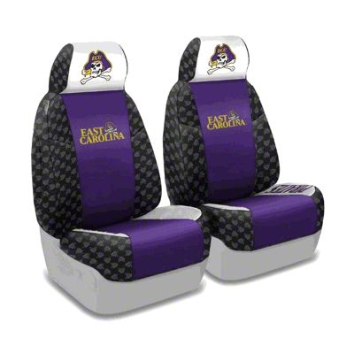Coverking East Carolina University Front Seat Covers (97-06 Jeep Wrangler TJ)