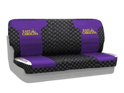Coverking East Carolina University Rear Seat Covers (87-95 Jeep Wrangler YJ)