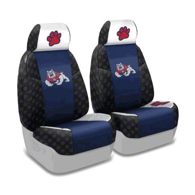 Coverking Fresno State Front Seat Covers (87-95 Jeep Wrangler YJ)