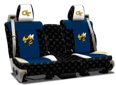 Coverking Georgia Institute of Technology Rear Seat Covers (97-06 Jeep Wrangler TJ)