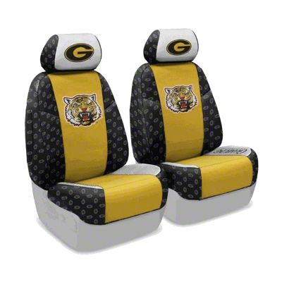 Coverking Grambling State University Front Seat Covers (07-18 Jeep Wrangler JK)