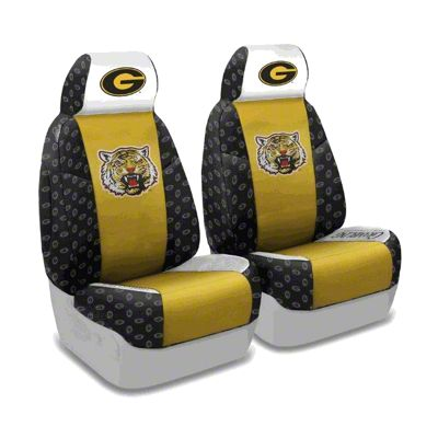 Coverking Grambling State University Front Seat Covers (87-95 Jeep Wrangler YJ)