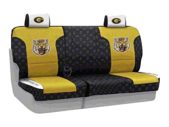 Coverking Grambling State University Rear Seat Covers (07-18 Jeep Wrangler JK)