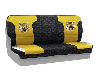 Coverking Grambling State University Rear Seat Covers (87-95 Jeep Wrangler YJ)