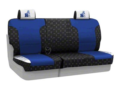Coverking Howard University Rear Seat Covers (87-95 Jeep Wrangler YJ)