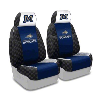 Coverking Montana State University Front Seat Covers (87-95 Jeep Wrangler YJ)
