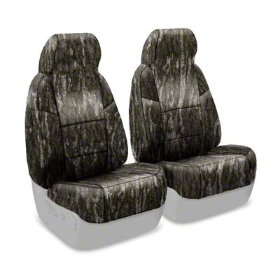 Coverking Mossy Oak Neosupreme Front Seat Covers - Bottomland (87-95 Jeep Wrangler YJ)