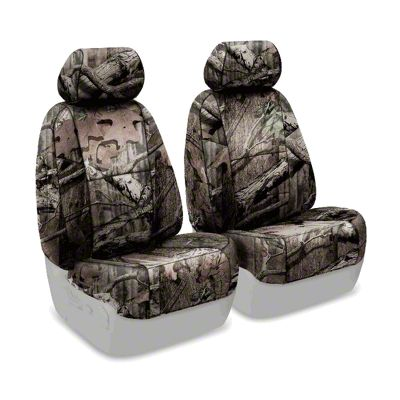 Coverking Mossy Oak Neosupreme Front Seat Covers - Break Up Infinity (07-18 Jeep Wrangler JK)