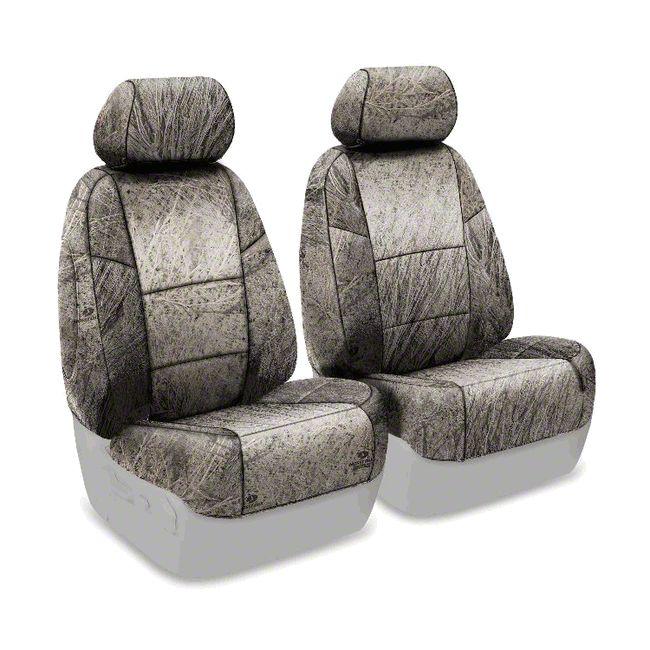 Coverking Mossy Oak Neosupreme Front Seat Covers - Brush (07-18 Jeep Wrangler JK)