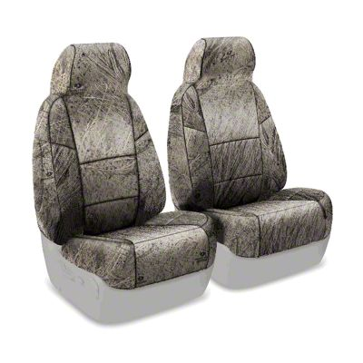 Coverking Mossy Oak Neosupreme Front Seat Covers - Brush (97-06 Jeep Wrangler TJ)
