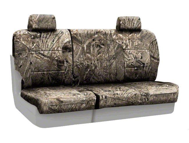 Coverking Mossy Oak Neosupreme Rear Seat Covers - Duck Blind (07-18 Jeep Wrangler JK)