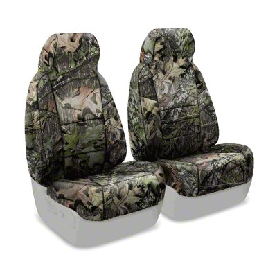 Coverking Mossy Oak Neosupreme Front Seat Covers - Obsession (97-06 Jeep Wrangler TJ)