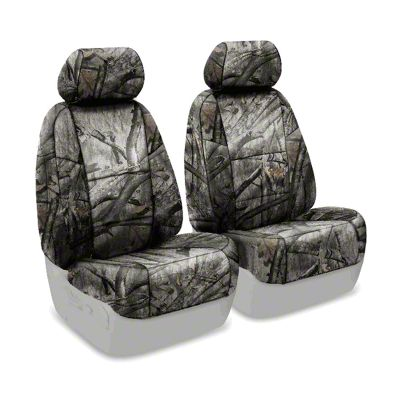 Coverking Mossy Oak Neosupreme Front Seat Covers - Treestand (07-18 Jeep Wrangler JK)