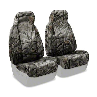 Coverking Mossy Oak Neosupreme Front Seat Covers - Treestand (87-95 Jeep Wrangler YJ)