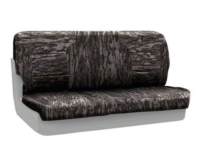 Coverking Mossy Oak Neosupreme Rear Seat Covers - Bottomland (87-95 Jeep Wrangler YJ)