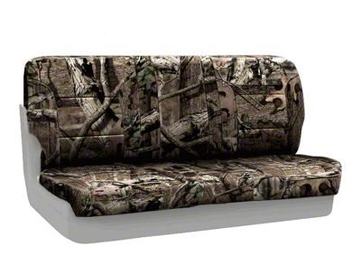 Coverking Mossy Oak Neosupreme Rear Seat Covers - Break Up Infinity (87-95 Jeep Wrangler YJ)