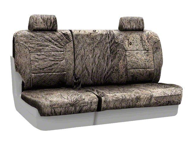 Coverking Mossy Oak Neosupreme Rear Seat Covers - Brush (07-18 Jeep Wrangler JK)