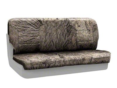 Coverking Mossy Oak Neosupreme Rear Seat Covers - Brush (87-95 Jeep Wrangler YJ)
