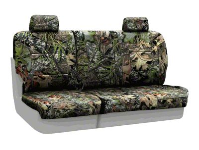 Coverking Mossy Oak Neosupreme Rear Seat Covers - Obsession (07-18 Jeep Wrangler JK)