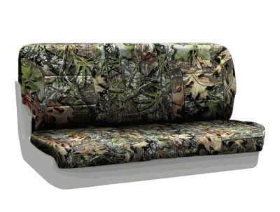 Coverking Mossy Oak Neosupreme Rear Seat Covers - Obsession (97-06 Jeep Wrangler TJ)