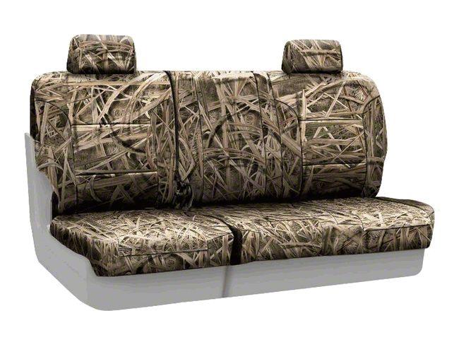 Coverking Mossy Oak Neosupreme Rear Seat Covers - Shadow Grass (07-18 Jeep Wrangler JK)