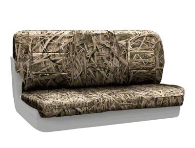 Coverking Mossy Oak Neosupreme Rear Seat Covers - Shadow Grass (87-95 Jeep Wrangler YJ)