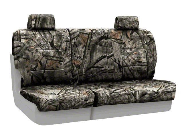 Coverking Mossy Oak Neosupreme Rear Seat Covers - Treestand (07-18 Jeep Wrangler JK)