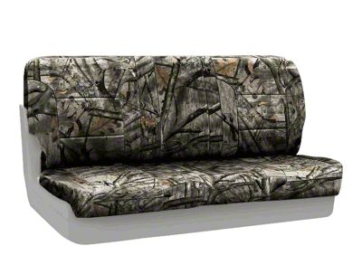 Coverking Mossy Oak Neosupreme Rear Seat Covers - Treestand (87-95 Jeep Wrangler YJ)
