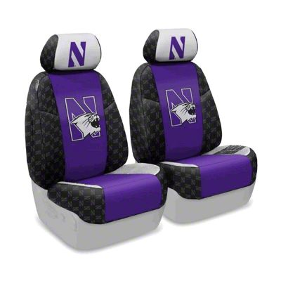 Coverking Northwestern University Front Seat Covers (07-18 Jeep Wrangler JK)