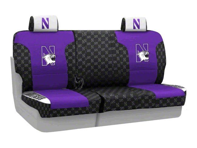Coverking Northwestern University Rear Seat Covers (07-18 Jeep Wrangler JK)