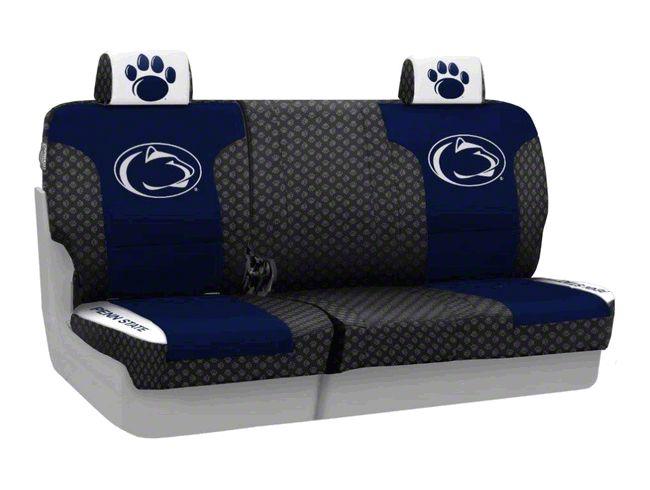 Coverking Penn State University Rear Seat Covers (07-18 Jeep Wrangler JK)