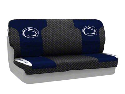Coverking Penn State University Rear Seat Covers (87-95 Jeep Wrangler YJ)