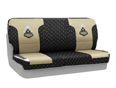 Coverking Purdue University Rear Seat Covers (87-95 Jeep Wrangler YJ)