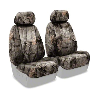 Coverking Real Tree Neosupreme Front Seat Covers - Hardwoods (07-18 Jeep Wrangler JK)