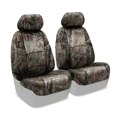 Coverking Real Tree Neosupreme Front Seat Covers - XTRA (07-18 Jeep Wrangler JK)