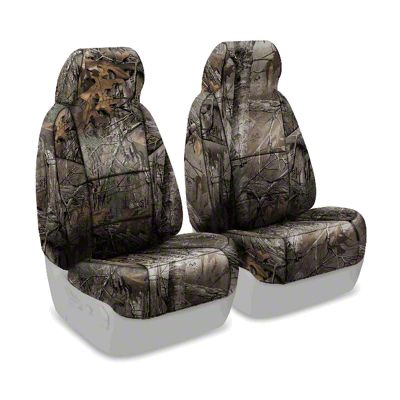 Coverking Real Tree Neosupreme Front Seat Covers - XTRA (87-95 Jeep Wrangler YJ)