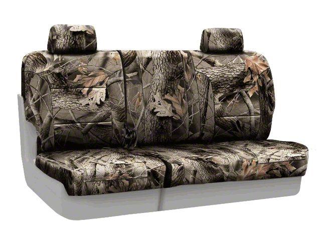 Coverking Real Tree Neosupreme Rear Seat Covers - Hardwoods (07-18 Jeep Wrangler JK)