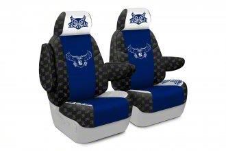Coverking Rice University Front Seat Covers (07-18 Jeep Wrangler JK)