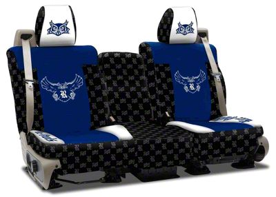 Coverking Rice University Rear Seat Covers (07-18 Jeep Wrangler JK)
