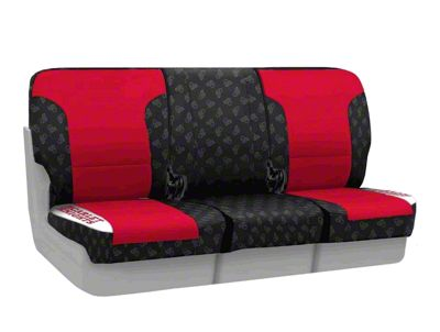Coverking Rutgers University Rear Seat Covers (87-95 Jeep Wrangler YJ)