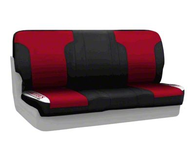 Coverking San Diego State University Rear Seat Covers (87-95 Jeep Wrangler YJ)
