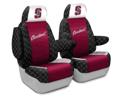 Coverking Stanford University Front Seat Covers (87-95 Jeep Wrangler YJ)