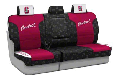 Coverking Stanford University Rear Seat Covers (87-95 Jeep Wrangler YJ)